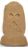Wholesale Balaclava 3-Hole  Halloween Ski Masks (Full Face Masks)   Khaki