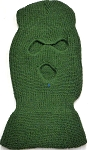 Wholesale Balaclava 3-Hole  Halloween Ski Masks (Full Face Masks)  Olive