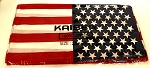American Flag  Double-Sided Bandanas 100% Cotton Wholesale (Dozen Priced)   USA Flag