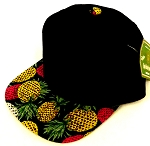 INFANT Baby Blank Snapback Hats & Caps Wholesale Pineapple - Bk Navy