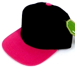 INFANT Baby Blank Snapback Hats & Caps Wholesale Pineapple - Bk  Hot Pink