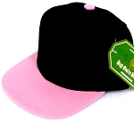 INFANT Baby Blank Snapback Hats & Caps Wholesale Pineapple - Bk  L Pink