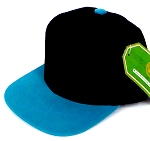 INFANT Baby Blank Snapback Hats & Caps Wholesale Pineapple - Bk Turquoise