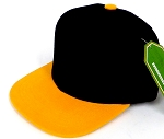 INFANT Baby Blank Snapback Hats & Caps Wholesale Pineapple - Bk Gold
