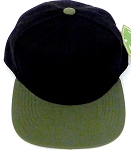 KIDS Junior Wholesale Blank Snapback Hats  - Black  Olive
