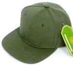 INFANT Baby Blank Snapback Hats & Caps Wholesale - Olive