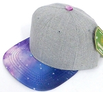 INFANT Baby Blank Snapback Hats & Caps Wholesale - Denim Grey Galaxy WJ03