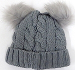 Infant/Baby Ears Beanie kb-8001 -Grey