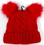Infant/Baby Ears Beanie kb-8001 - Red