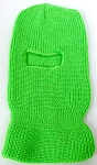 Wholesale Balaclava one-Hole  Halloween Ski Masks (Full Face Masks)  Neon Green