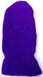 Wholesale Balaclava one-Hole  Halloween Ski Masks (Full Face Masks)  Purple