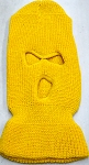 Wholesale Balaclava 3-Hole  Halloween Ski Masks (Full Face Masks)   Gold