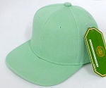 INFANT Baby Blank Snapback Hats & Caps Wholesale - Solid Tiffany blue