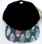 KIDS Jr. Snapback Hats Wholesale -  Black FISH 01