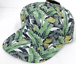Blank 7 Panel  Hats/Caps Wholesale -   Banana