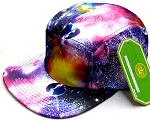 Wholesale Blank 5-Panel Camp Hats Caps - Galaxy GLX 05