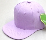INFANT Baby Blank Snapback Hats & Caps Wholesale - Solid Lavender