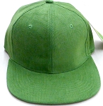 Wholesale Corduroy Blank Snapback Caps - Solid -  Army Green