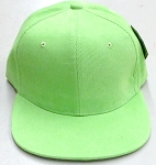 Wholesale Corduroy Blank Snapback Caps - Solid -  LIME