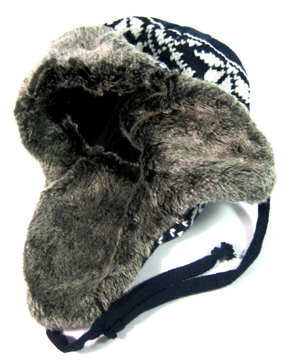 78e9a7cad07 Wholesale Winter Beanies Hats Trooper Fur Ear Flap Hat Bulk Cheap PomPoms