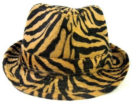 Wholesale Fedora Hats Animal Print Fedoras Fashion Tiger Leopard Hat Bulk d7211e25308