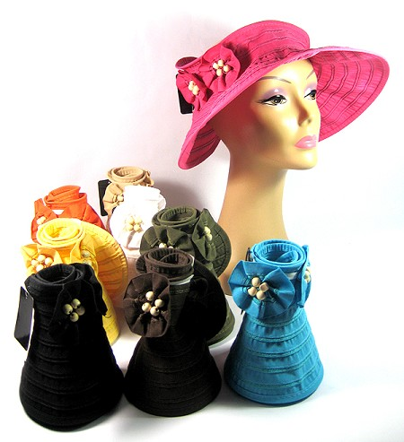 a141fa83c02 Women s Sun Block Fashion Hat Summer Visors Wholesale - Flowers Beads  Protection Summer Hats All Colors