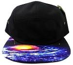 STRAPBACK 5-Panel Blank Camp Hats Caps Wholesale - Galaxy
