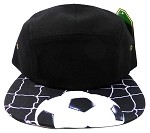 STRAPBACK 5-Pane l Blank Camp Hats Caps Wholesale - Soccer