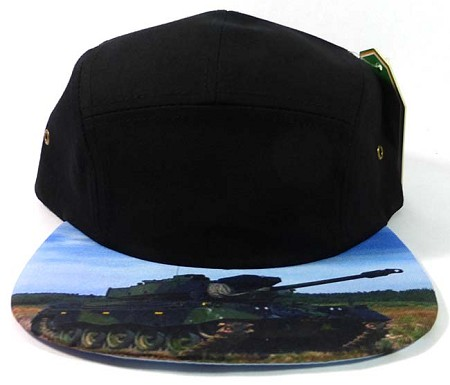 STRAPBACK 5-Panel Blank Camp Hats Caps Wholesale - Tank