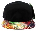 STRAPBACK 5-Panel Blank Camp Hats Caps Wholesale - Fireworks