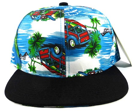 Wholesale Blank Snapback Hats - Ocean & Travel Car 3