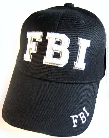 Law   Order Hat - FBI Logo Ball Cap Wholesale FBI HATS 8b306475c8e