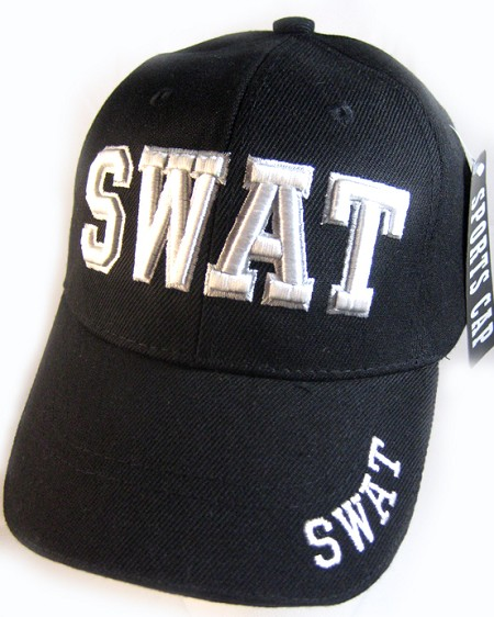 8431289c1e44d Wholesale SWAT Ball Caps - Supreme Quality Law   Order Embroidery Hat Bulk