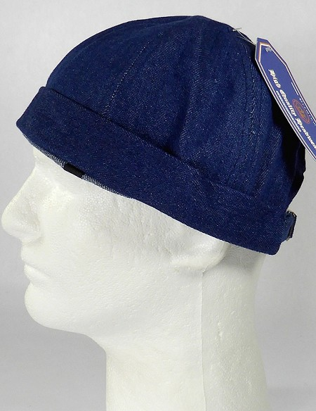 Wholesale Brimless Cap - Dark Denim