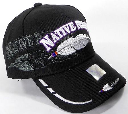 c5c9ef03aa5 thumbnail.asp file assets images 2017 Native Pride ace wholesale native  pride baseball cap feather black 02.jpg maxx 450 maxy 0