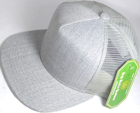 57f415b4 ... buy wholesale mesh trucker 5 panel snapback blank hats denim light gray  5d643 78383