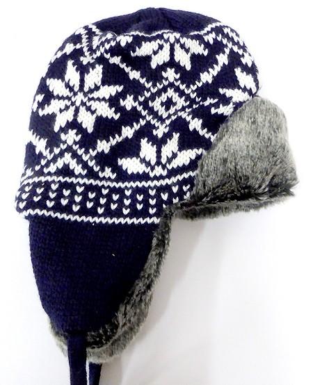 Wholesale Winter Beanies Hats Trooper Fur Ear Flap Hat Bulk Cheap PomPoms 3220df475ae
