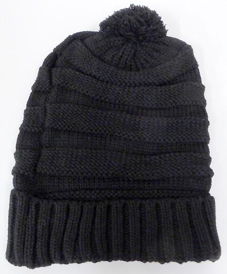 Wholesale Pom Pom Winter Beanie Hats Bulk Crown Hat 60d947b48