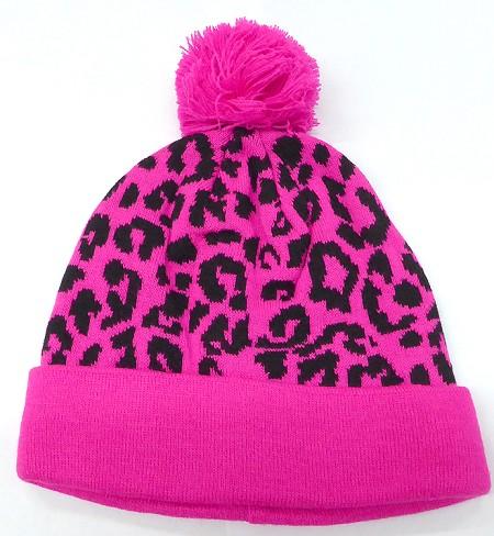 Wholesale Pom Pom Beanie Hats Winter Cap Bulk ZEBRA 8ffd4452366