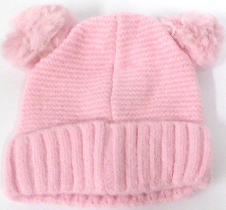 Infant/Baby Ears Beanie k-88 - pink