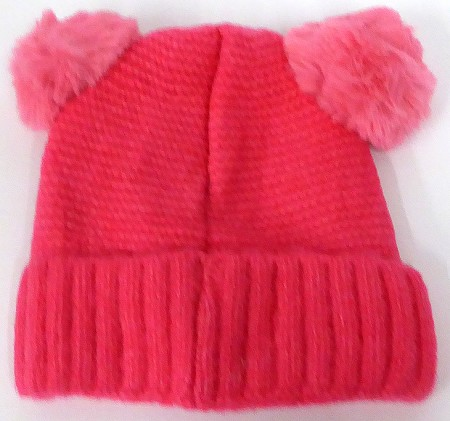 Infant/Baby Ears Beanie k-88 - Hot Pink