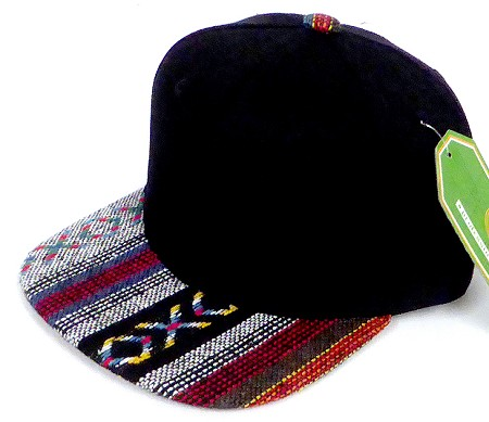 INFANT Baby Blank Snapback Hats & Caps Wholesale - Black Aztec STR-01